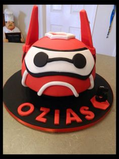 Baymax cake Big Hero 6 Cake Birthday Cakes, Birthday Ideas, Happy Birthday, Big Hero 6 Party Ideas, 6 Cake, Little Bites, Baymax, Fancy Cakes, Party Time