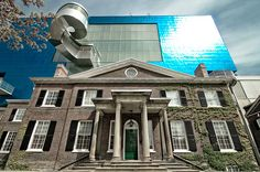 Built in 1817 Behind Art Gallery of Ontario Art Gallery Of Ontario, 21st Century, Mansions, Architecture, House Styles, City, Building, Decor, Mansion Houses