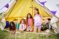Camping. One of the best kinds of sleepovers for kids. Check out why you should be going to Camp Bestival here: http://www.suitcasesandstrollers.com/articles/view/family-friendly-festival-camp-bestival-kids?l=all #GoogleUs #suitcasesandstrollers #travel #travelwithkids #familytravel #familyholidays #familyvacations #traveltips #camping #CampBestival