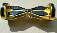"Hoverboard Sport 2.0 (8"" wheels) Limited Edition w/Bluetooth- Midas Touch GOLD (Chrome)"