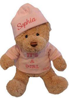Personalized It's a Boy or It's a Girl Teddy Bear