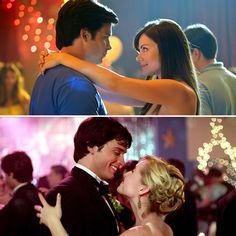 Best TV Love Triangles : Chloe, Clark and Lois, Smallville Chloe Smallville, Tom Welling Smallville, Annette O'toole, John Schneider, Kristin Kreuk, Series Movies, Movies And Tv Shows, Michael Rosenbaum, Allison Mack