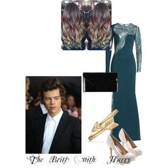 Brits with Harry by kaylee-schroeder on Polyvore featuring polyvore, fashion, style, Zuhair Murad, Pieces and Bling Jewelry