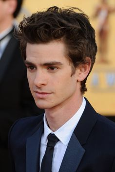 """ Andrew Garfield. He is the definition of adorable. Plus, he's the new spider man."" My thoughts exactly"