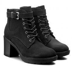 Polokozačky JENNY FAIRY - W16AW159-4 Černá Dr. Martens, Timberland Boots, Hiking Boots, Combat Boots, Fairy, Shoes, Fashion, Timberland Boots Outfit, Walking Boots