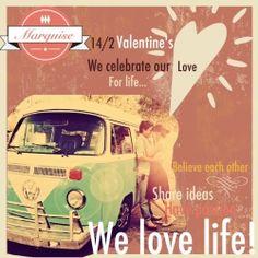 Γιορτάζουμε τον έρωτα μας για ζωή!!! Πάρτε μέρος στον διαγωνισμό του Marquise Cafe για την Γιορτή του Αγ. Βαλεντίνου και απολαύστε μία εντυπωσιακή τούρτα για 2 άτομα, συνοδείας δύο ποτηριών Asti Martini, για εσάς και την συντροφιά σας!