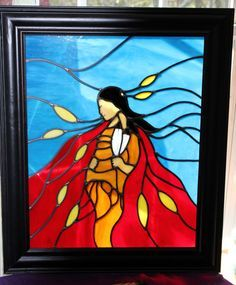 native american stained glass - Google Search