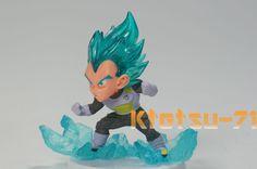 Bandai Dragon Ball Z Super UG 01 Gashapon Mini Figure SSGSS Vegeta