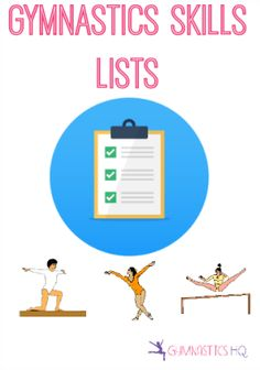 Gymnastics Skills: Event and Level Skill Lists