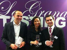 Vendredi 30 novembre, les trois fondateurs d'iDealwine accueillaient les clients du Club iDéal pour une dégustation privée au Grand Tasting.