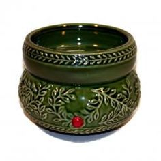 Candle/Tart Warmer Green Ivy NEW ITEM!