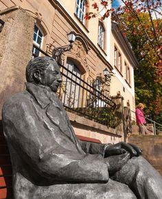 In Ilmenau zit Goethe voor zijn museum
