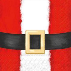Santa Suit (Beverage Napkin)