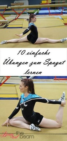 Schnell & einfach Spagat lernen   Beauty and the beam