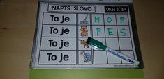 Produkt - PLYNULOST ČTENÍ 2 - M, T, L, S, P, J - VÝUKOVÁ SADA - VELKÁ PÍSMENA Scrabble