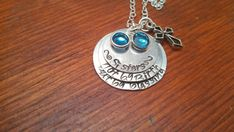 Handstamped Personalized Sisters by choice by ByalittlebitofFaith, $35.00