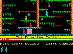 Manic Miner (Bug-Byte - 1983) The Endorian Forest