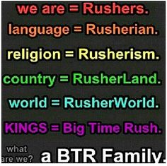 Forever Rusher....I go with RusherWonderLand but that's cool too.