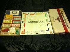 Vintage Monopoly by SummersBreeze on Etsy, $100.00