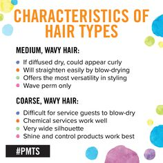 How can you tell the difference between medium and coarse hair? Use this chart to help you decide.