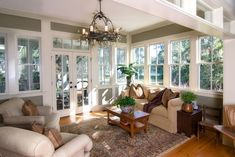 living room / sun room addition