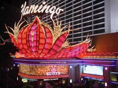 Las Vegas - The third and final stop on my vacation with my mom in 1989.  We stayed in an inexpensive chain hotel that was right near the Flamingo.  I remember walking at night and being amazed at all the incredible lights.  Gaudy but fun.  Mom could be found in the casinos.