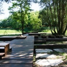 Park in Casalmoro by Archiplan Studio