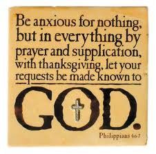 Worry is talking to myself but prayer is talking to God