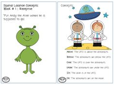 Bright Ideas: Speech-Language Therapy : Outer Space Theme: Prepositions