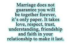 exactly so just because we are not married does not make you any better, cause we have been together longer and have been through so much more!!!