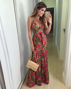 Spring dresses casual, pretty summer dresses, floral maxi dress, wedding at Pretty Summer Dresses, Spring Dresses Casual, Spring Outfits, Maxi Skirt Style, Skirt Outfits, Dress Skirt, Skirt Fashion, Fashion Outfits, Freakum Dress