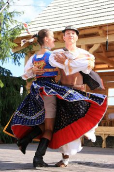 "slovak-folk-costumes: "" Area of town Detva, Podpoľanie region, Central Slovakia. """