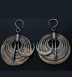 Contemporary Hainan earrings from the South of China
