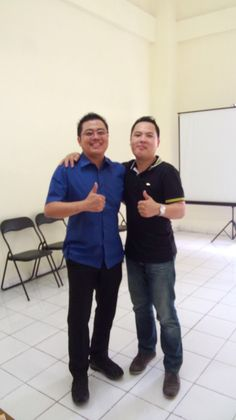 Me and Stevan Oka Pakar Hypnotheraphy No.1 Indonesia