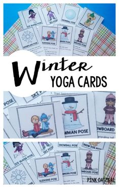 The best way to move is with a winter themed yoga! Winter yoga is g… Kids yoga! The best way to move is with a winter themed yoga! Winter yoga is great for indoor recess, winter brain breaks, or therapy! Movement Activities, Therapy Activities, Physical Activities, Physical Education, Snow Theme, Winter Theme, Preschool Age, Preschool Activities, Toddler Yoga