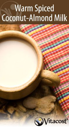 Move over, hot cocoa. This belly-warming winter drink is just as easy to make but brings a touch of exotic flavor to your mug. Simmer together almond milk, a swirl of coconut oil and fragrant spices such as nutmeg, ginger and turmeric for a healthy hot beverage that comforts as it chases away chills.