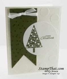 Polka Dot Christmas Card