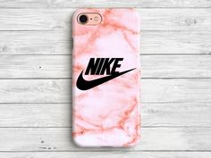 Pink Nike Phone Case iPhone 7 Case Nike iPhone 6 by PandaCases - LastStepPin Iphone 7 Cases Nike, Case Iphone 6s, Diy Phone Case, Iphone 7 Plus Cases, Whatsapp Pink, Smartphone, Accessoires Iphone, Pink Nikes, Cute Cases