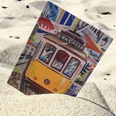 Collage Artwork, Collage Artists, Torn Paper, Shape And Form, Algarve, Lisbon, Envelopes, Postcards, Portugal