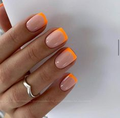 Summer Acrylic Nails, Cute Acrylic Nails, Neon Nails, Diy Nails, Swag Nails, Cute Nails, Pretty Nails, White Summer Nails, Pink Tip Nails