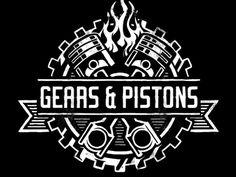 Gears & Pistons - Branding  by Derrick Castle