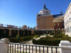 Jardín de las Estatuas en el Palacio Real de Aranjuez, Madrid