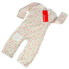 Piccalilly Pink Spotty Playsuit 100% #Fairtrade Organic Cotton £10.00