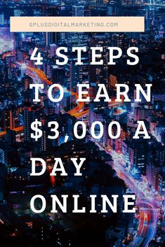 We're back with another episode of 5-Minute Marketing series and in this one, I'll share 4 steps to building a seven-figure online business and making at least $3,000 a day online.  In this episode, I'll talk about our top 2 traffic sources, then I'll explain the right way to build an online business using high ticket commissions Watch the episode to learn more:  #affiliatelink #makemoneyonline #affiliatemarketing