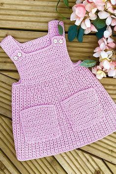 This crochet pattern is suitable for beginners and is part of a collection of modern crochet patterns for babies and children.. available for instant download today #crochet #crochetbaby #crochetpattern #moderncrochet #babycrochet #crochetforbaby Modern Crochet Patterns, Crochet Patterns For Beginners, Baby Patterns, Baby Girl Crochet, Pinafore Dress, Crochet Clothes, Baby Dress, Babies, Etsy Shop