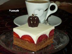 RECEPTY Z MOJEJ KUCHYNE A ZÁHRADY: Jahodové kocky s penou z bielej čokolády