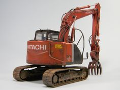 Hitachi Asteco Neo  1/35 Hasegawa
