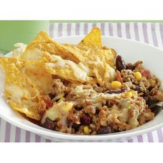 Chilli con carne with cheesy corn chips recipe - By recipes+