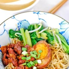 Chinese Chicken Noodles - cook the way they sell it on the street