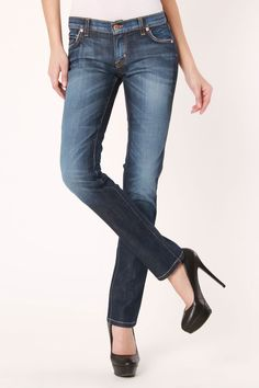 Heidy Skinny Boot Cut Jeans In Aphrodite Wash http://www.beyondtherack.com/member/invite/B7C53751